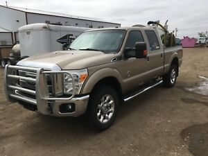 2011 F-350 lariat diesel with Septic/fresh water vac unit