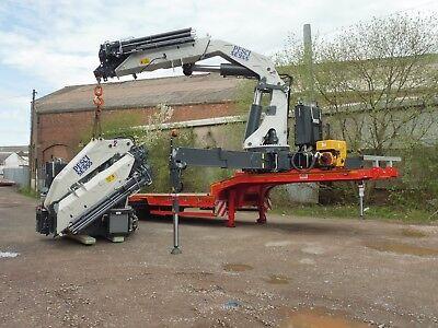 Hiab  Palfinger  Fassi  Atlas  Pesci  crane  low loader trailer