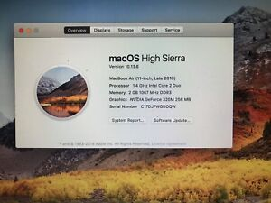 """11"""" MACBOOK AIR - GREAT CONDITION, OWNED SINCE DAY ONE."""