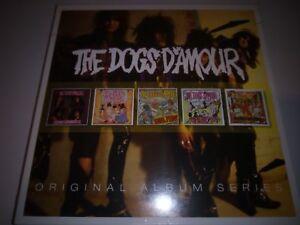 THE DOGS D'AMOUR - ORIGINAL ALBUM SERIES  5 CD SET NEW SEALED 2016 WARNER