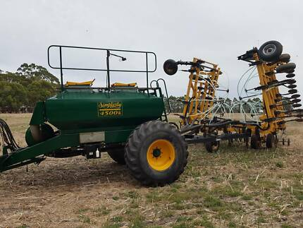 Airseeder Bar and Bin Combo