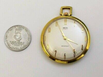 Rare smiths pocket watches, mechanics, 21 stones, gilding. England.