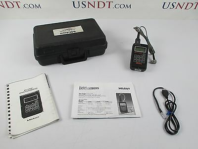 Stress-tel T-mike Es Thickness Gage Ultrasonic Flaw Detector Ndt Olympus
