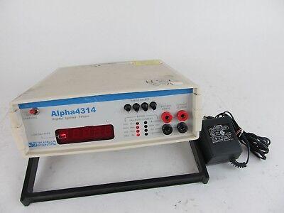 Valhalla Scientific Alpha 4314 Digital Ignitor Tester W Power Adapter
