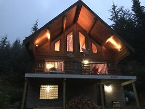 Log cabin at Sasquatch Mountain *newly renovated