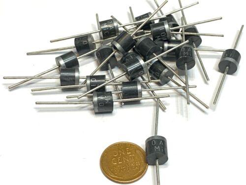 30 Pieces 10A10 10 Amp 1000V 10A 1KV Axial Rectifier Diode solar panel C16