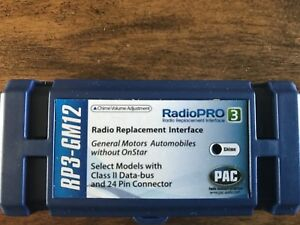 GM aftermarket radio replacement interface