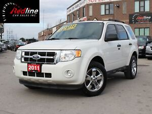 2011 Ford Escape XLT V6 Leather-Bluetooth-Chrome Wheels