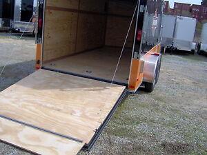 12' enclosed cargo trailer free Harley Davidson decals
