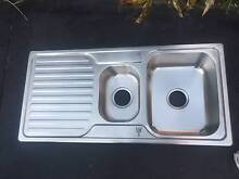 Stainless Steel Sink - 1 and Half Bowls Merewether Newcastle Area Preview