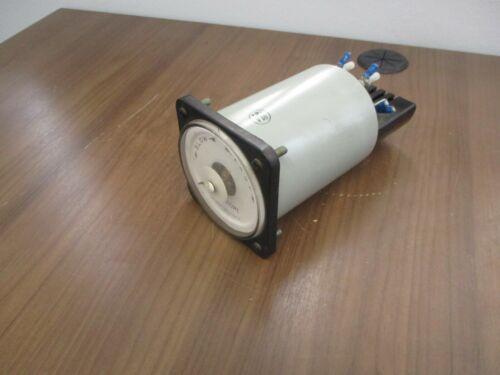 GE Synchroscope 50-106452AAAA1 120V 60Hz Used
