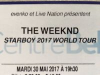 The Weeknd 30 mai Centre Bell