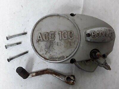 Hodaka ACE 100 Super Rat Magneto Generator Left Crankcase Cover, Shifter, Shaft.