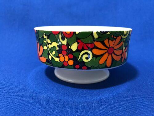 Vintage Holt Howard Groovy Flower Power Pedestal Trinket Dish Bowl 1968
