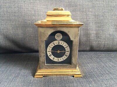 Thwaites & Reed Brass Carriage Clock Vintage