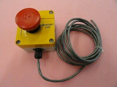 Baco Emergency Stop Button W6 Attached Cord
