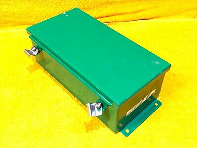 12 X 6 X 4 Hammond Weatherproof Jic Box Enclosure With Continuous Hinge