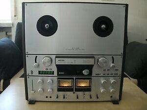 Philips N4520 - Bandmaschine 4 Spuren 3 Motoren, viel features