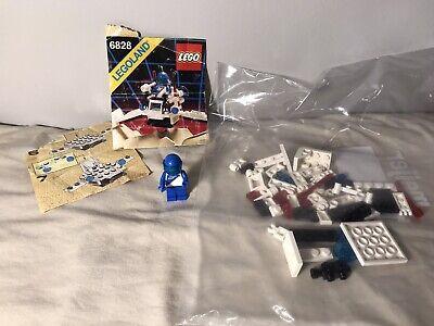 Lego 6828 Vintage Space Futuron Twin-Winged Spoiler Complete Set LegoLand