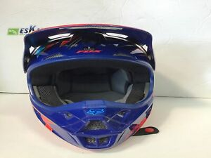 Casque de motocross fox v1 race grandeur teen small