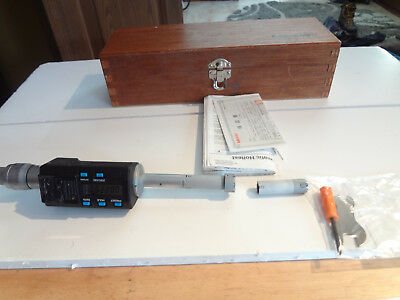 Mitutoyo 468-168 Digimatic Holtest Lcd Inside Micrometer Three-point