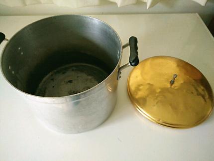 Aluminum boiler, cooking pot