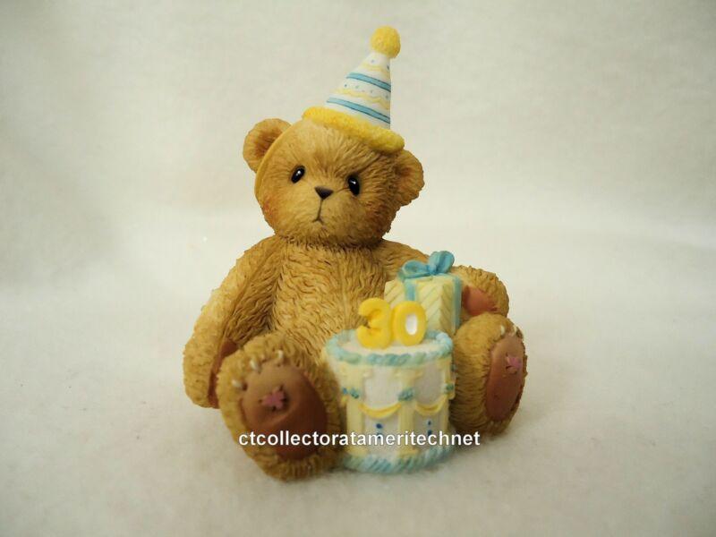 Cherished Teddies Birthday Bear Age 30 2005  NIB