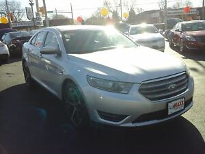 2014 FORD TAURUS SEL- REAR VIEW CAMERA, BACKUP SENSOR, LEATHER H