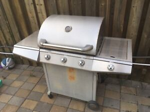 Outdoor bbq grill propane