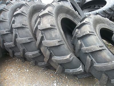 Two 14.9x24 14.9-24 John Deere Ford Farmall Farm Tractor Tires 8 Ply