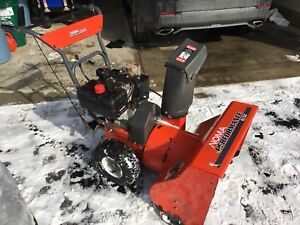 Noma Heavy Duty Gas Snow Blower - Only $200!!