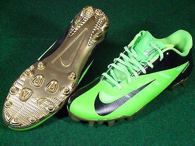 d3d0218cf New Mens Nike Vapor Talon Elite Low TD Football Cleats Lime Green Black  Gold 12