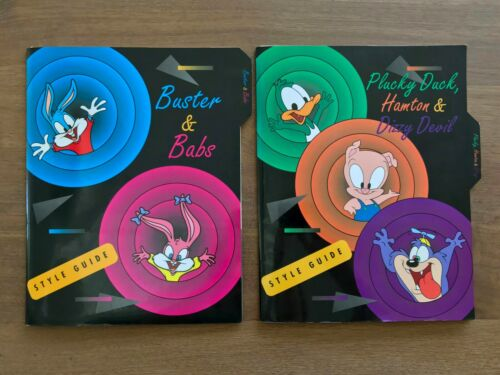 Very Rare Vintage 1990 Tiny Toon Adventures 2 Style Guides