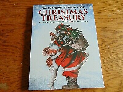 Saturday Evening Post Christmas Treasury Ready-to-frame Prints & Coloring Pages ()
