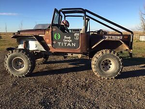 1977 land cruiser mud truck
