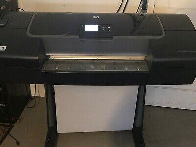 Hp Designjet Z2100 Q6675c 24 Wide-format Printer Plotter Wstand Accessories
