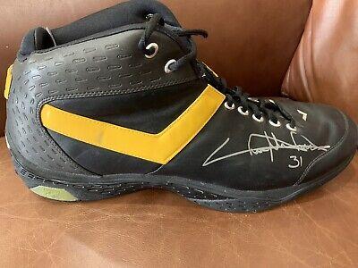 cd00c0ff8cf511 Chris Mihm Los Angeles Lakers Game Worn Used Shoe University Of Texas  Longhorns