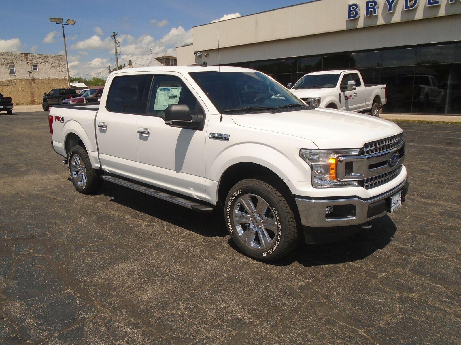 2020 Ford F150 SuperCrew XLT 4X4 233 Miles Oxford White Truck 3.5L V6 EcoBoost w