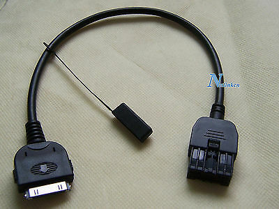 (07-13 NISSAN / INFINITI AUX INPUT CABLE ADAPTER FOR IPOD IPHONE 284H2-1BA0B)