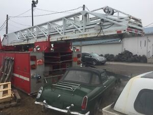 Fire truck for parts