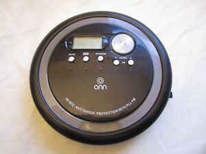 Personal CD Player with FM Radio - Black