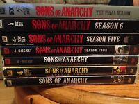 Sons of anarchy series