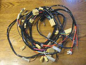1955 chevy under dash and under hood wire harness new. Black Bedroom Furniture Sets. Home Design Ideas