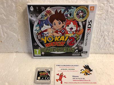 Jeu Vidéo Nintendo 3DS/2DS Yokai Watch 2 : Esprits Farceurs VF Yo-Kai RPG Mangas