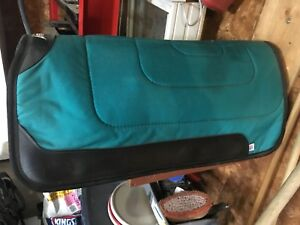Saddle pad and tack set