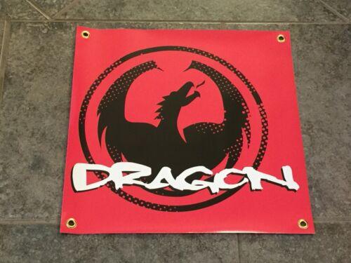 Dragon Alliance banner skate snowboard motocross sunglasses goggles garage shop