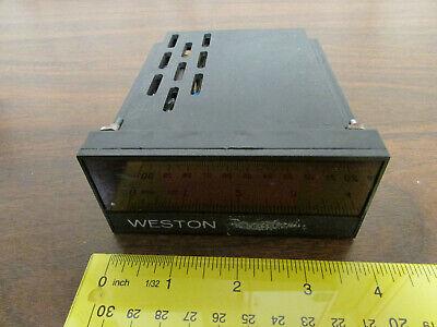 Weston Panel Mount Voltmeter Etc Led Display Unit 4 Digits Led 22005