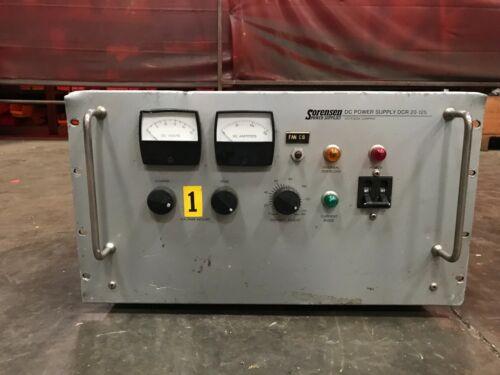 Sorensen DCR 20-125 DC Power Supply