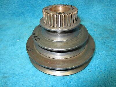 Original Atlas Clausing 4804 12 Metal Lathe Headstock Drive Pulley Gear