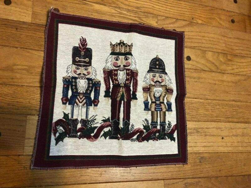 Panel Christmas Nutcracker Tapestry